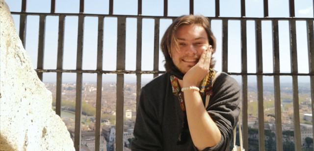 JCU student Miguel Avides