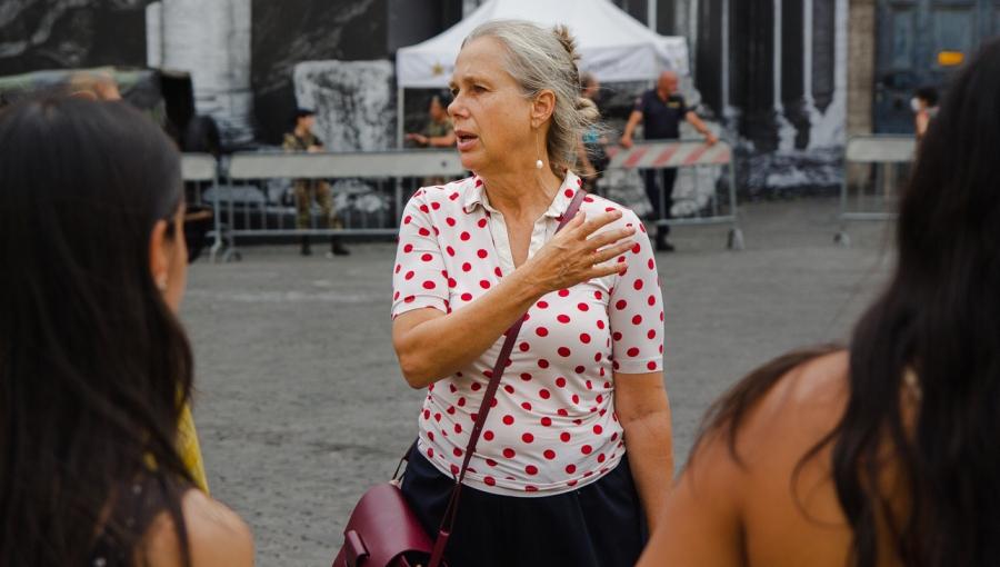 Art All Around Us: Meet Art History Professor Cornelia Lauf