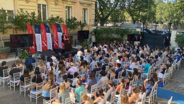 JCU Hosts Convocation Ceremony for Northeastern University First Semester in Rome Students