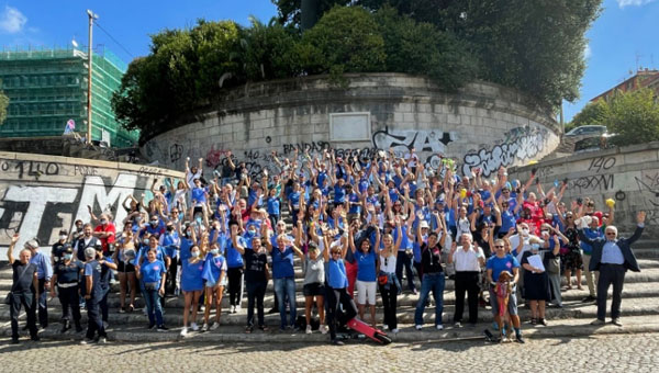 JCU Volunteers Join World Cleanup Day 2021 with Retake Roma